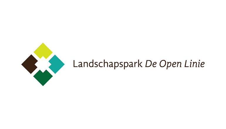 Logo Landschapspark De Open Linie
